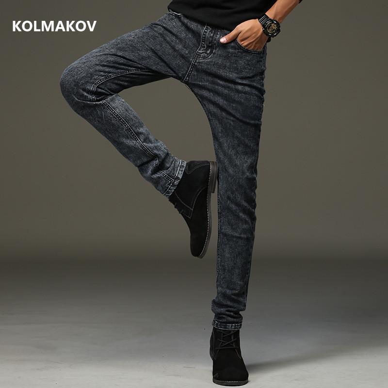 2020 new spring arrival jeans high quality casual slim elastic jeans men ,skinny jeans men ,men's pencil pants ,size 27-36 CX200824