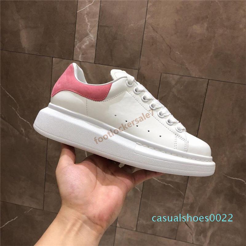 20ss luxe Moda Kadın Ayakkabı bayanlar eğitmenler Üçlü Siyah Beyaz Kadife Platformu Bottoms Erkek sepetleri Sneakers Giydir Casual chaussures c22