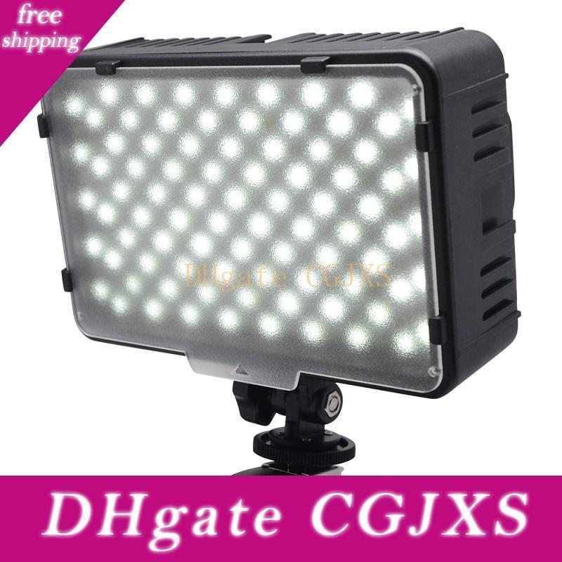 Mcoplus 168 Led Video Light On -Camera Photographic Photography Panel Lighting For Canon Nikon Sony Dv Camera Camcorder Vs Cn -160