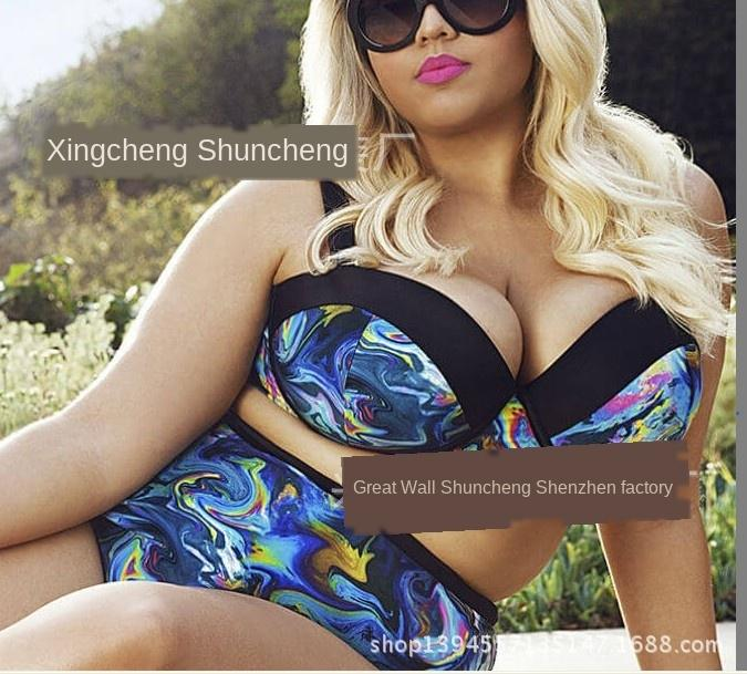 Hızlı satış artı mayo bikini yağ artı yağ güzellik sürükle ayrılışından sadece Moda bikini mayo Xpthr