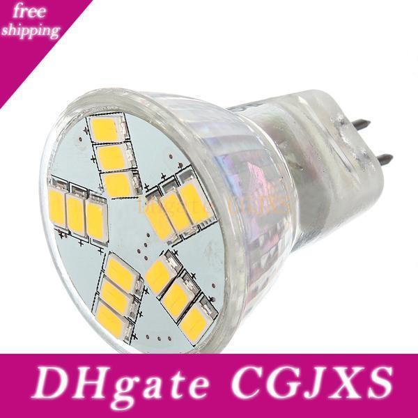 G4 MR11 LED Projecteurs 15 Ampoules Led Smd 5730 lumières Ac Dc 12v Super Bright chaud / blanc froid