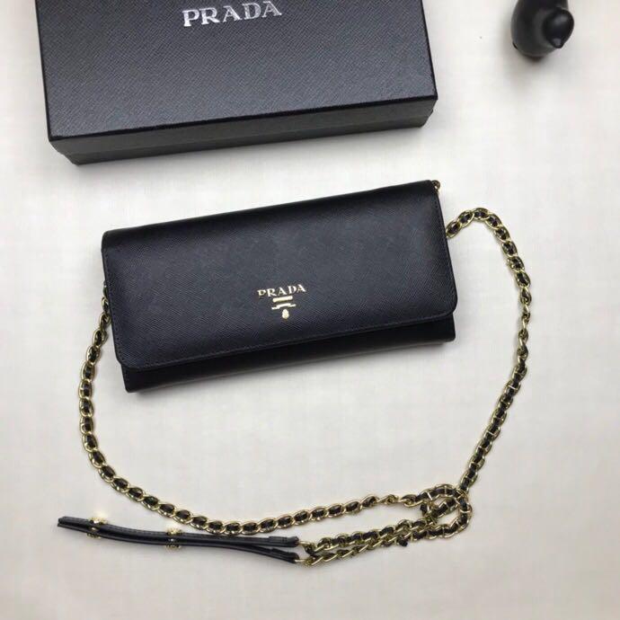2020 고전적인 체인 지갑 여성 패션 긴 지갑 여성 패션 짧은 지갑 카드 홀더 선물 상자