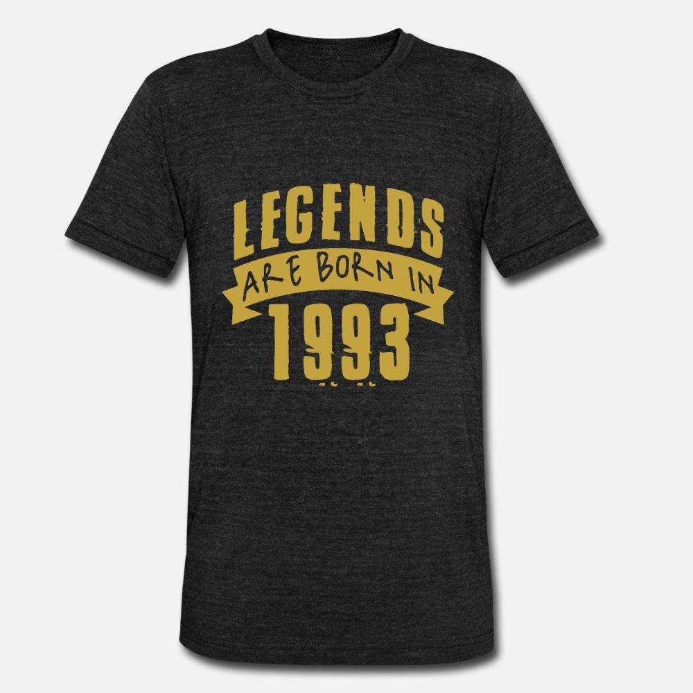 Nascono le leggende Nel 1993 il cotone uomini della maglietta Character S-XXXL naturale divertente sveglia casuale camicia Spring Pictures autunno