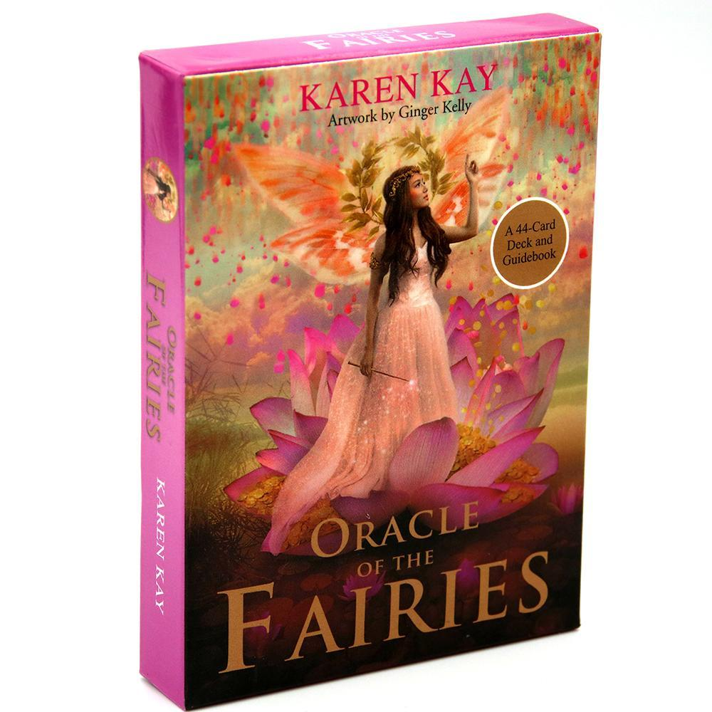 Fairy Kay Of Game Magic Of And Realm The Oracle The Fay And Guidebook Manifest Tarot Deck A Toy Card 44 Fairies Karen MDcrk abc2007