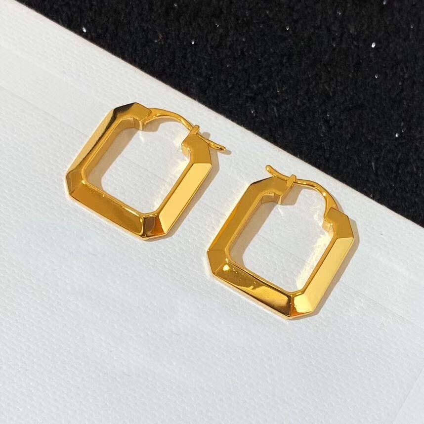 2020 Heißer Verkauf Quadratische Form Design Tropfenohrring einfache Art für Frauen Sommer Schmuck passend Kleid freien Verschiffen PS4703