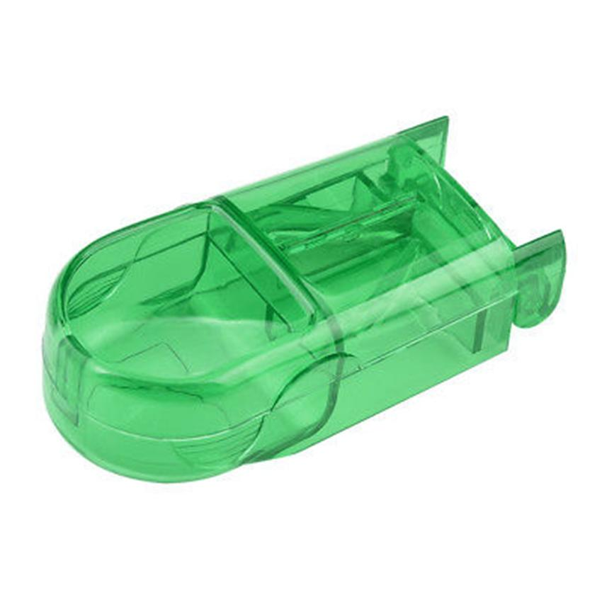 Pill Cutter Box Splitter Half Storage Scomparto Box Taglierina Splitter Medicine Home Storage Box 3 Colori DHC1100