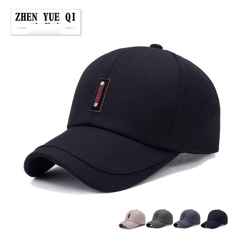 tyUXr primavera e l'estate nuovo tessuto abbigliamento casual cappello di sole di mezza età cucitura protezione di modo berretto da baseball capbaseball uomini vecchio cappello a tesa di