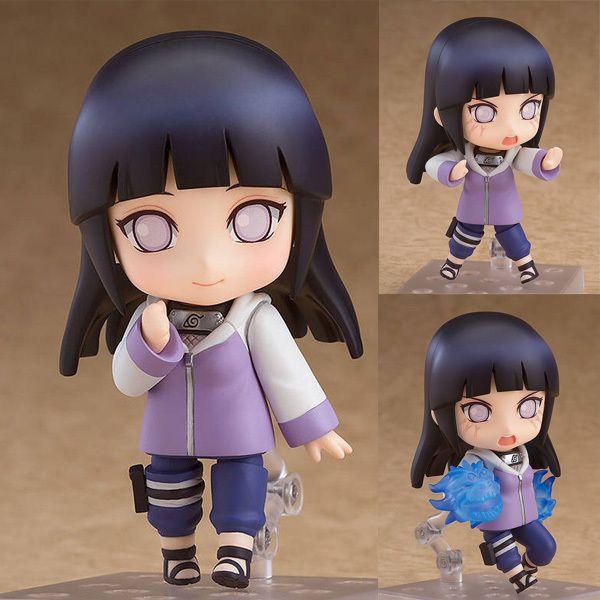 Anime Naruto Charakter Hyuga Hinata BJD nette Action-Figur Modell Spielzeug Y200811