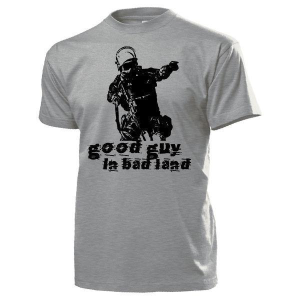 Novelty T Shirt Einheit Sek Bw GSG9 maglietta 2019 Abbigliamento Estate Good Guy A Bad Terra Polizei anti terrore