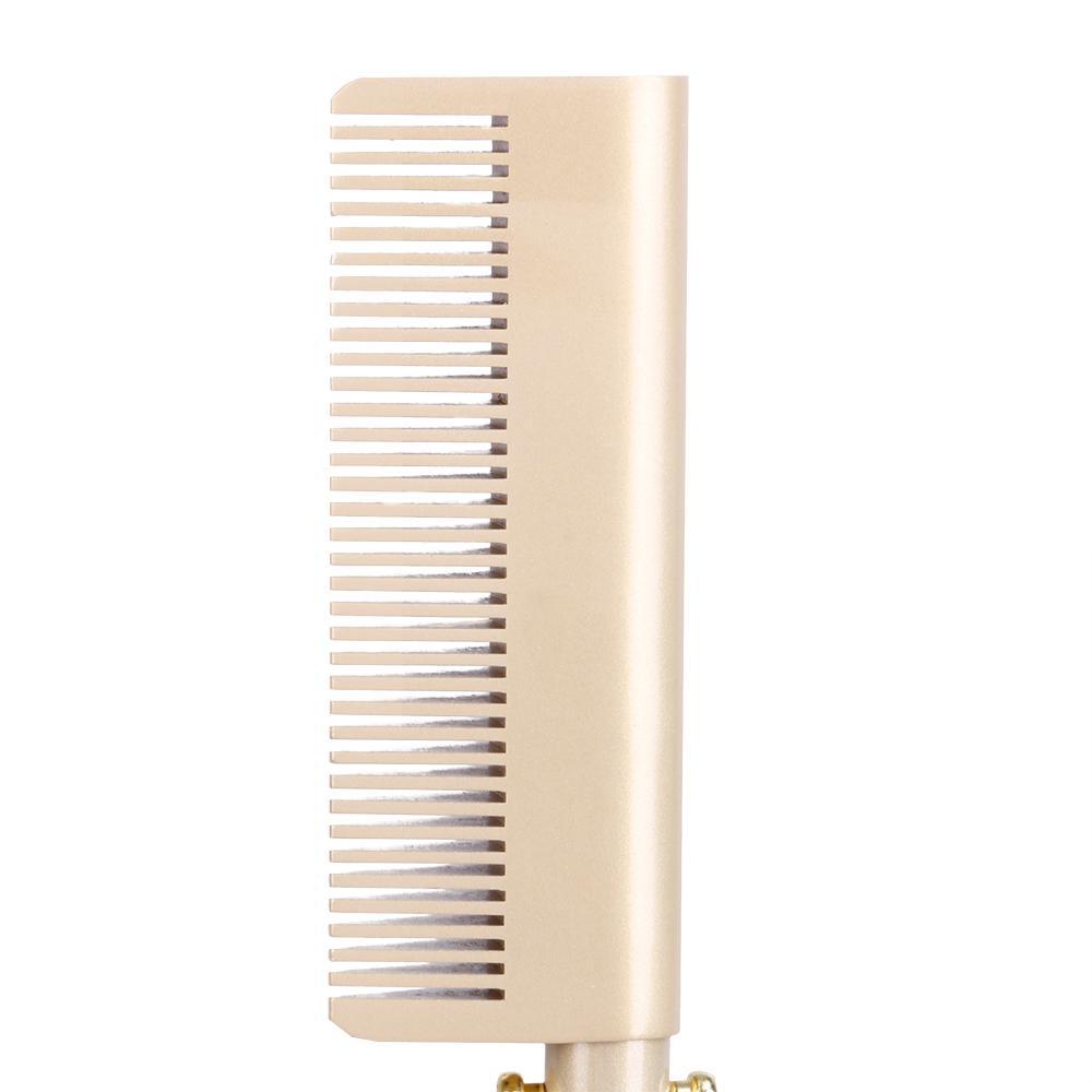 Lisseur électrique peigne baguette cheveux à friser cheveux Fers bigoudi peigne chaud redressage électrique Peigne en alliage de titane