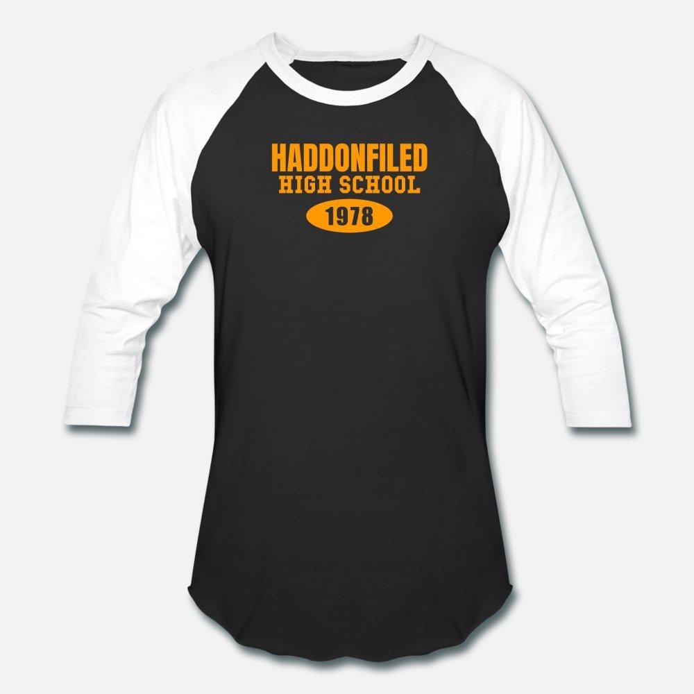 Haddonfield High School di 1.978 T shirt manica corta S-XXXL Famiglia personalizzato La luce del sole camicia di stile di modo standard Estate