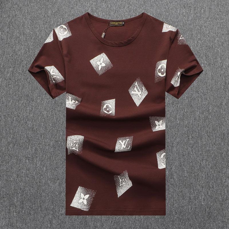 2020 neue Herren T-Shirt Europäische amerikanische populäre kleine rote Herzdrucken T-Shirt Männer Frauen Paare T-Shirt H8