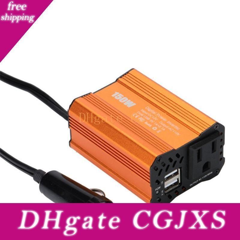 150w Power Inverter voiture double USB 3 .1a 12v 100v Pour Voiture Adaptateur Chargeur