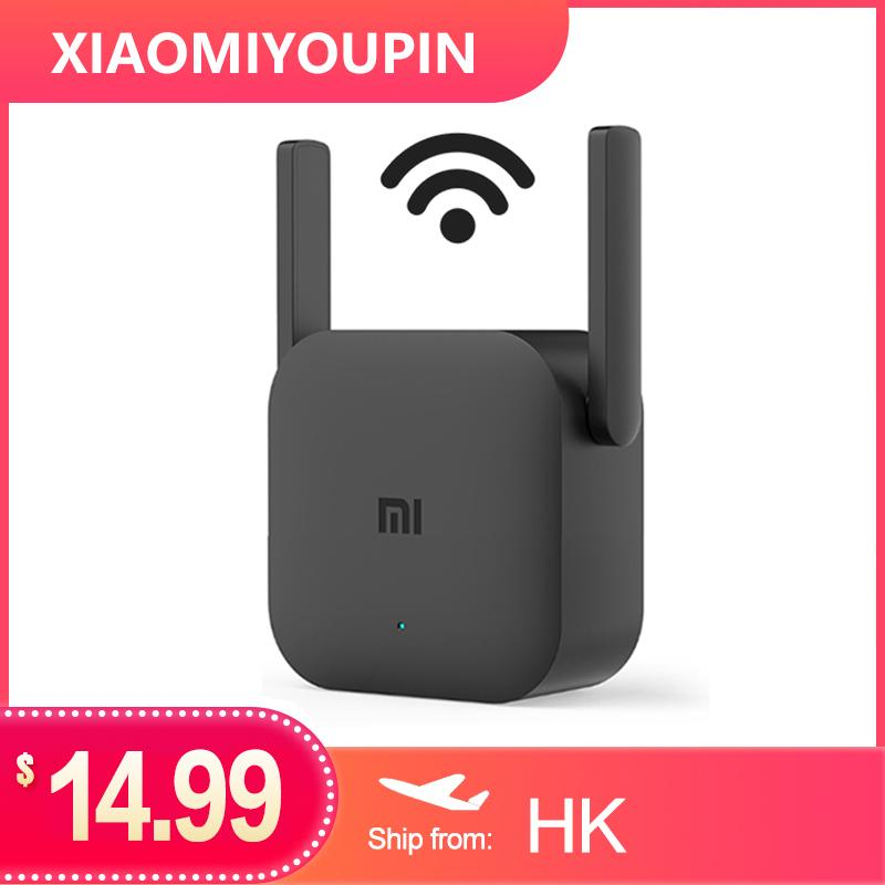 (Presore) Versão Global Xiaomi Mi Wi-Fi Extender Pro WiFi Amplificador Pro Router 300m 2.4G Repetidor Repetidor MI Router Sem Fio Wi-Fi