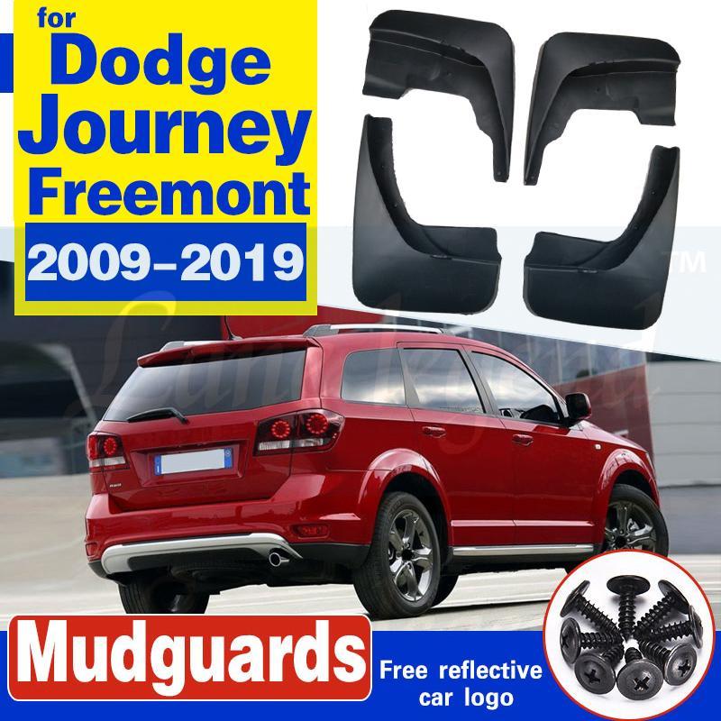 Set geformtes Auto-Schlammklappen für die Dodge-Reise 2009-2019 Fiat FreiMont-Mud-Blätter Spritzen-Guards Schlamm-Klappen-Mordguards 2012 2012 2013 2014