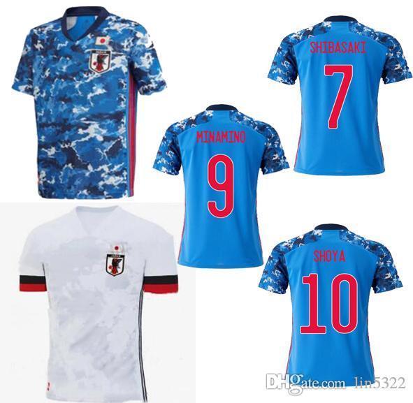 Top 2020 Japón jersey de los hombres de fútbol 20 21 equipo nacional ATOM Kagawa ENDO OKAZAKI NAGATOMO Hasebe Kamamoto camiseta de fútbol