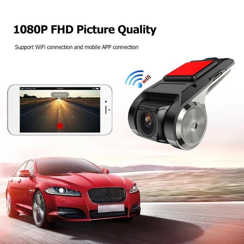 Hidden USB Car DVR Camera Video Recorder WiFi ADAS G-sensor Digital Video Recorder Android Vehicle Camera 1080P FHD New Style