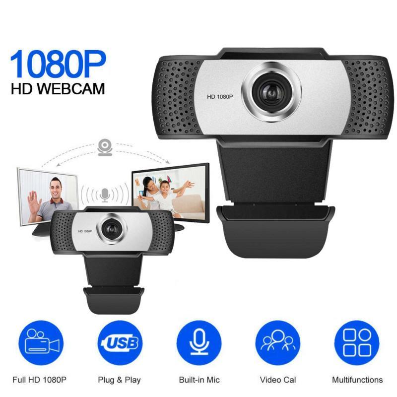 Широкоугольная 2 миллиона пикселей 1080P Full HD USB веб-камера для настольных ПК ноутбуков Веб-камера с микрофоном Веб-камера Камар веб-камерой