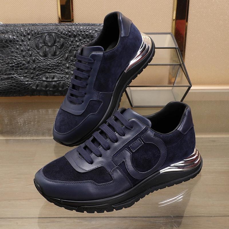 Üst Kalite Erkek Ayakkabı Scarpe Da Uomo Di Lusso Yeni Riefsaw Sonbahar Ve Kış Lüks Footwears Spor Casual Artı boyutu Dantel -Up Erkekler Ayakkabı