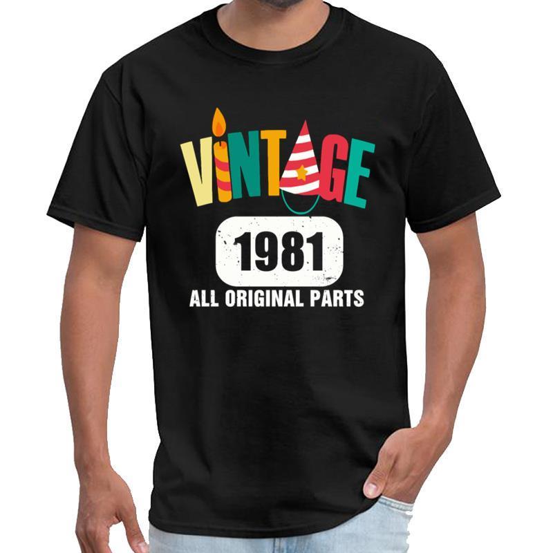 Vintage de encargo 1981 Todos Piezas originales de la camiseta masculina femenina timothee Chalamet camiseta lema s-5XL