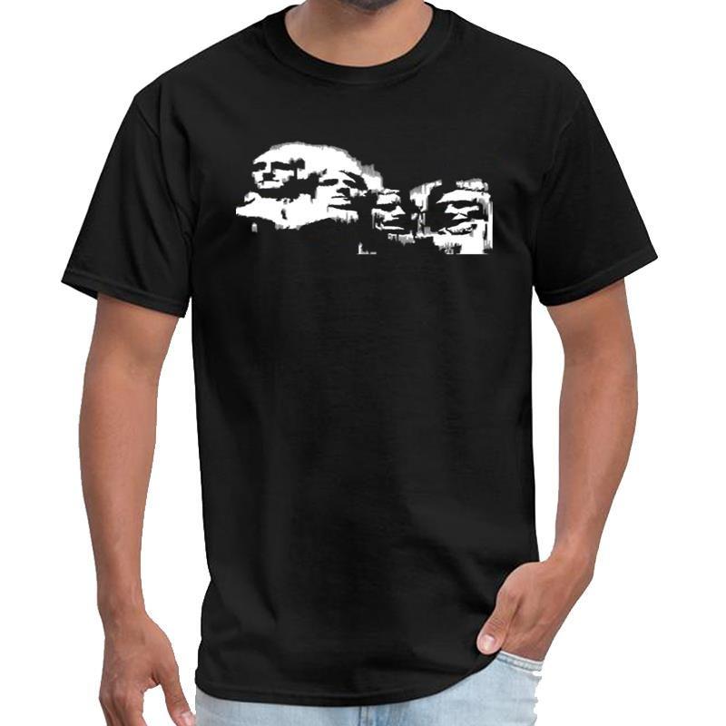 Impreso Monte Rushmore (blanco, DDP) vaporwave t Camisa del niño undertale camiseta XXXL 4XL 5XL camiseta top