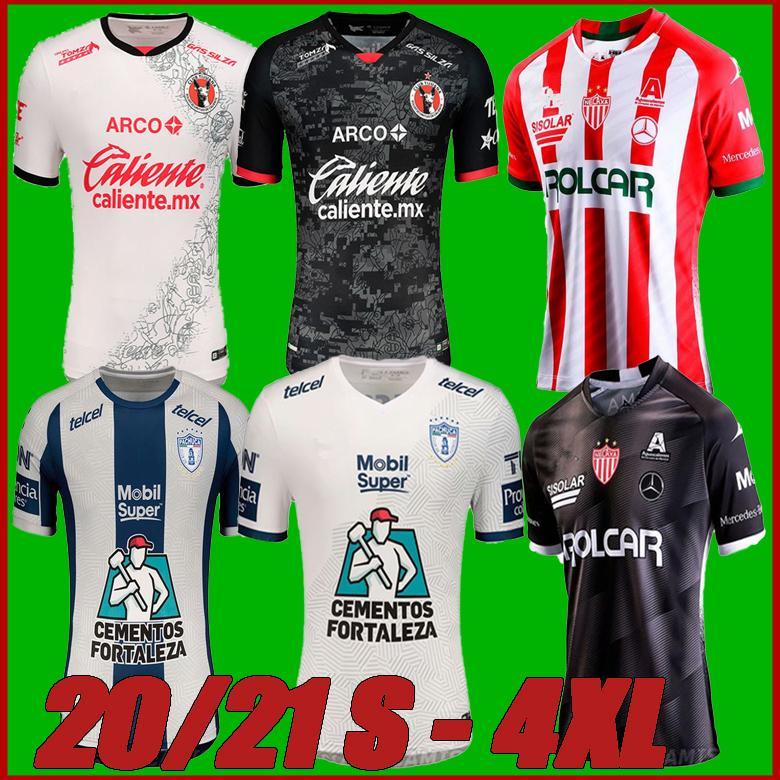 2020 المكسيك Liga Xolos de Tijuana Home Away Soccer Jerseys 2020 2021 20 Atlas Necaxa Pachuca Shirts