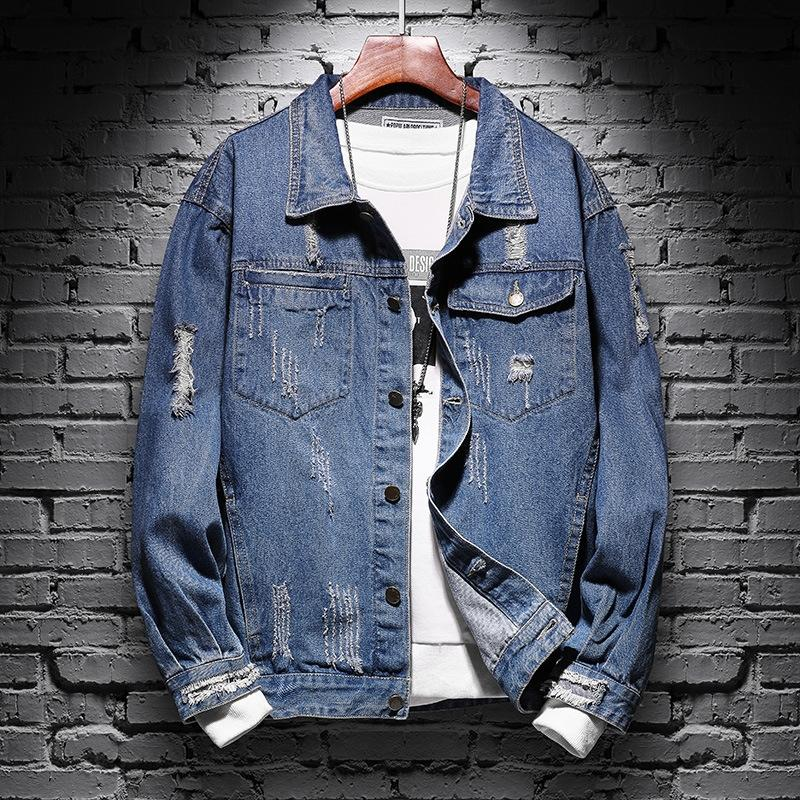 1LcES 2020 giacca casual giacca abbigliamento bello corrispondenza degli uomini denim delle nuove nuovo studente di estate degli uomini coreani di stile alla moda