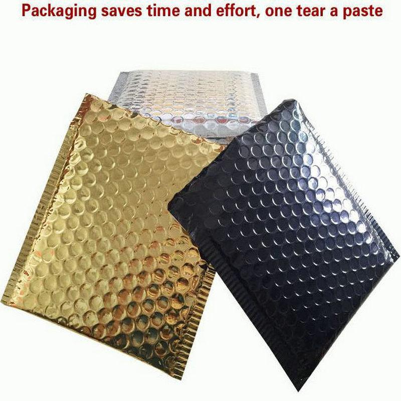 Acolchoado de 8 20 Tamanho 45 X Amiff X 4x7 4 Pack Exterior Almofada por Envelopes 7 utentes bolha Envelopes X ouro zhkEh garden2007