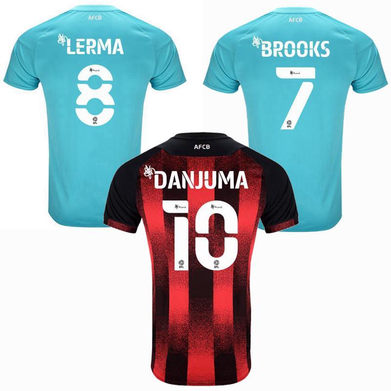 gli uomini di calcio e bambini camicia 2020 2021 a casa maglia calcio assente WILSON KING Cook Danjuma fatturazione Mepham L.COOK Solanke BROOKS LERMA