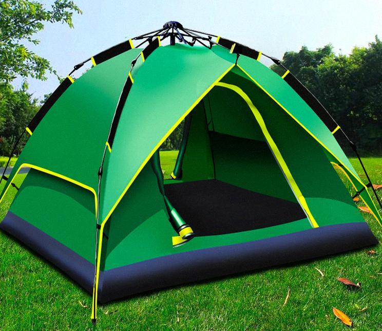 DX4 idraulico tenda a tre scopo di campeggio esterna impermeabile di campeggio automatica della velocità-aperta tenda idraulica tG5C #