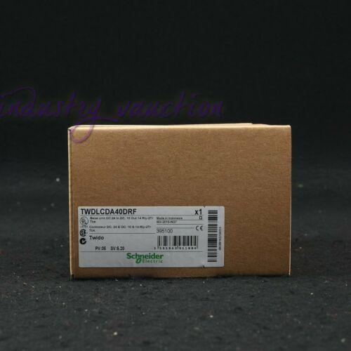 Schneider New TWDLCDA40DRF PLC programmable controller One year warranty