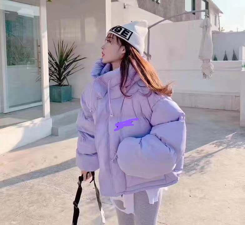 casaco de inverno z3cgM Voltar temporada roupas curtas das mulheres New baixo estilo ins soltas jaqueta coreano jaqueta estudante pão para baixo casaco fashion