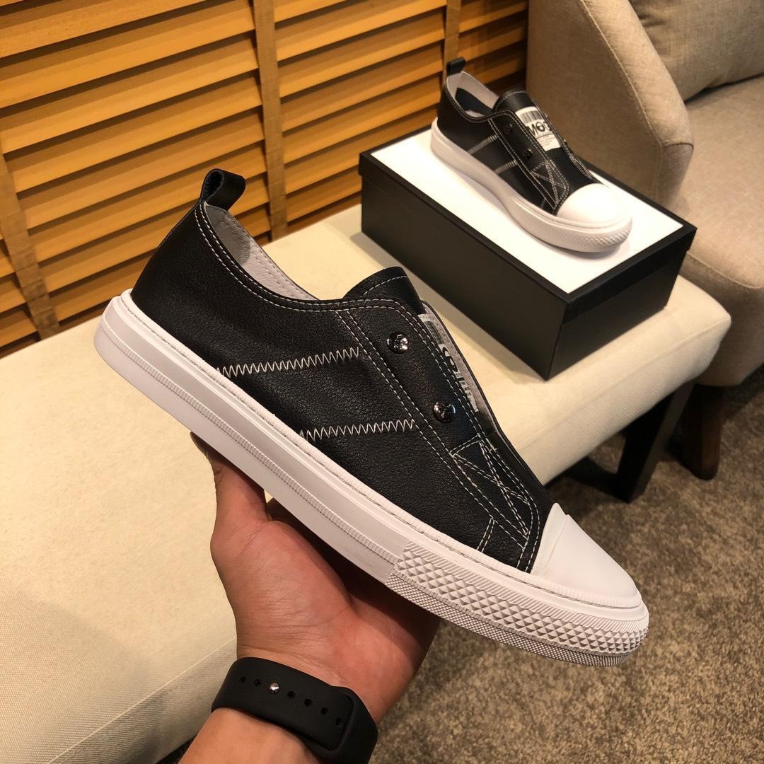 2021 -2019g Limited Edition New Tide Brand Men ', S кожа платформа Комфортная повседневная обувь, высокое качество Мода Дикая Спортивная обувь, S