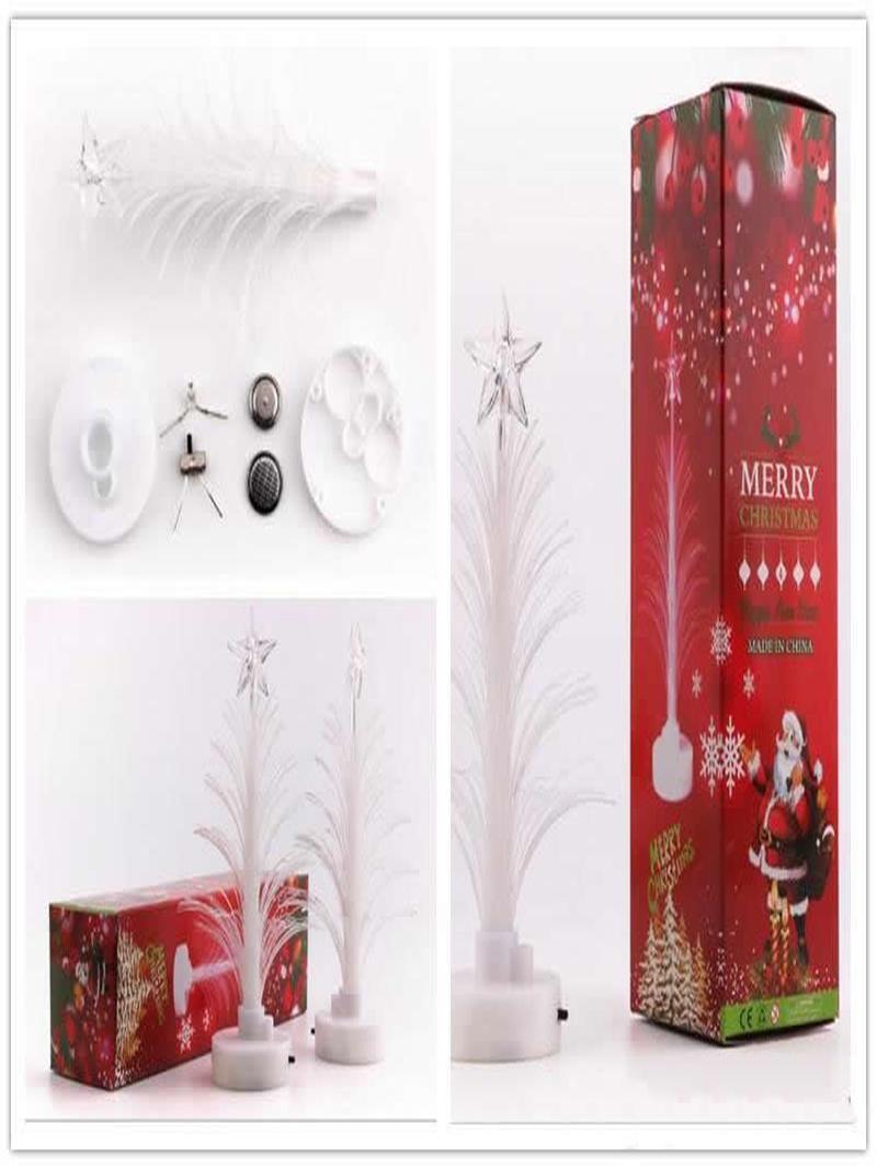 Mini-Baum Weihnachten Frohe Weihnachten Hot Ändern Verkauf Stock Ornaments Farbe Led Dekoration Weihnachtsfest-Tabelle Heim Baum home2009 PghDE