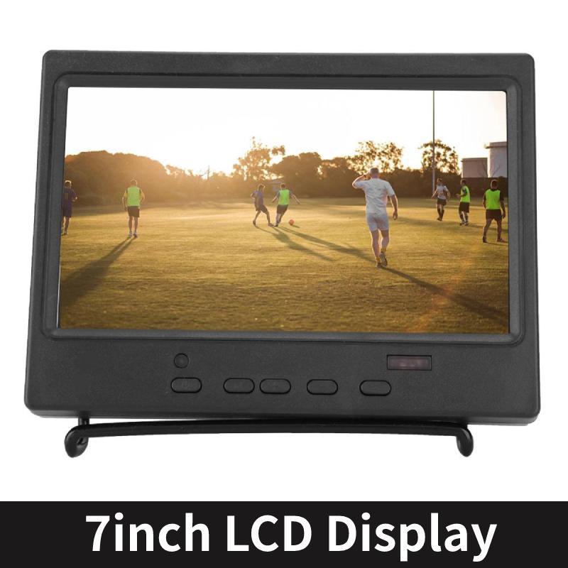 7 인치 휴대용 모니터 1024 × 600 (16) : 라즈베리 파이 자동차 디스플레이 CCTV 9 다기능 디스플레이 지원 HDMI / VGA / AV 입력