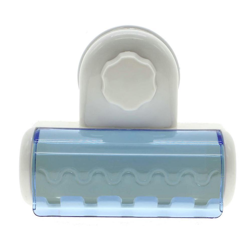 Criativa ventosa escova de dentes escova de dentes HolderBathroom Otário