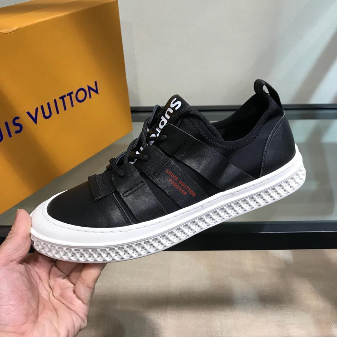 2019q primavera nuevos hombres '; S encaje -Up las zapatillas de deporte, zapatos de moda, zapatos cómodos silvestre pequeña blancos caja original de entrega 38 -4411