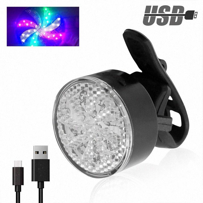 Bisiklet Taillight 8 Modu Güvenlik Uyarı Bisiklet Arka LED Flaş Işığı Lambası luz trasera bicicleta dAZd # Şarj 40 Ledler Bisiklet Işıklar USB