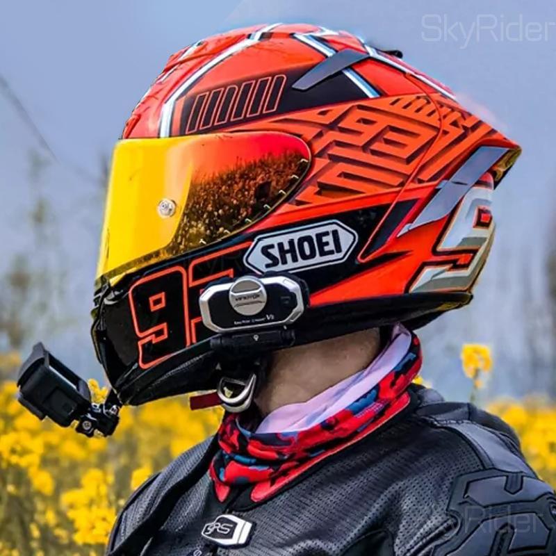 Shoei Full Face X14 93 Marquez RED ANT Motorrad-Sturzhelm Man Riding Auto motocroßlaufen Motorradhelm-NOT-ORIGINAL-Helm