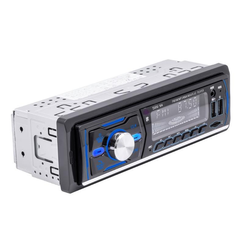 XYCING Neue Radio-DAB Dual USB Auto Bluetooth MP3-Player mit bunten Licht-RDS-Unterstützung Kompatibel mit DAB +
