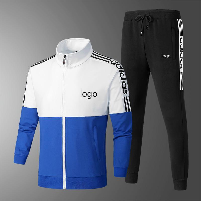 Top-Qualität Marke Tracksuits für Mens Sportswear mit Buchstaben Herbst Anzug Langarm beiläufige Jogger Hosen-Anzug Kleidung L-4XL Hot