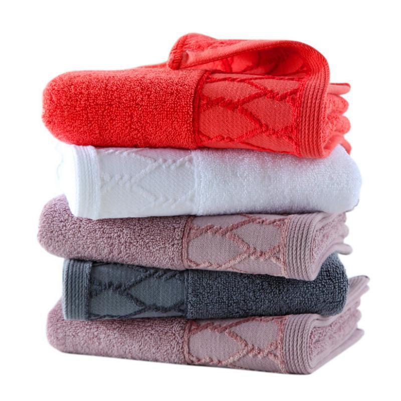 Atacado Fábrica de Algodão Adulto espessamento Toalha Hotel Soft absorvente toalha pode ser personalizado Bordados