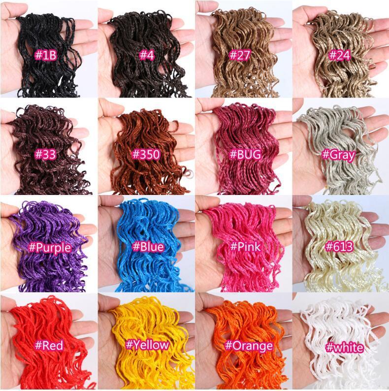 Livraison gratuite tresse de fibre chimique avec une longueur de 56 pouces différentes couleurs, stock suffisant