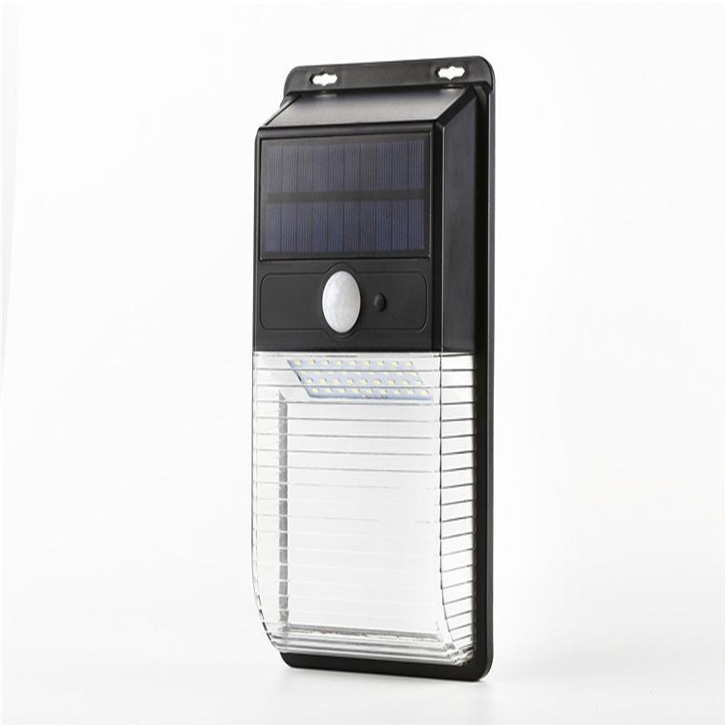 Luci solari a LED Outdoor, Wireless Motion Sensor Lights, IP44 Waterproof Led Light Light Light Easy-to-install Lights per illuminazione esterna