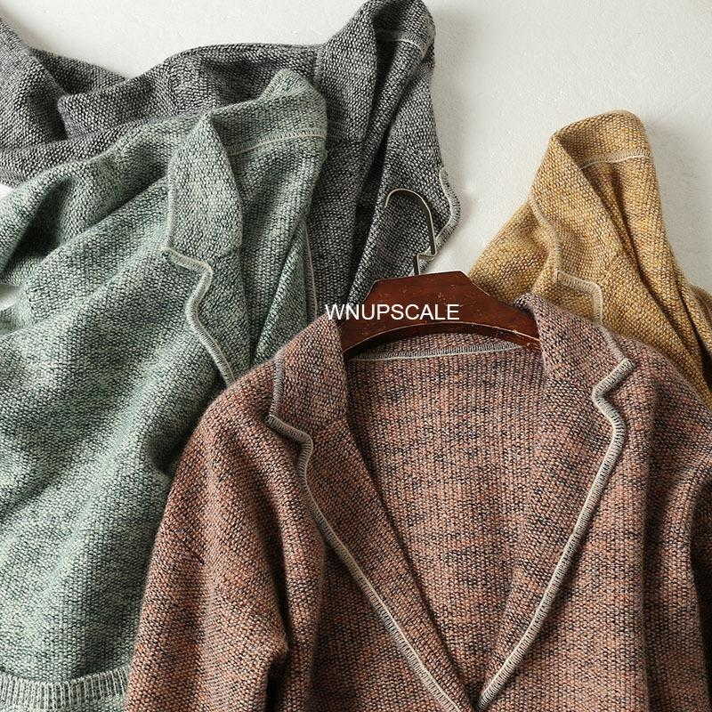 pnHmZ Strong Französisch Mantel Radform ist Wolle Windmantel gut nicht auffällig Schlankheits Wolle gestrickten Klage Frauen sehr der