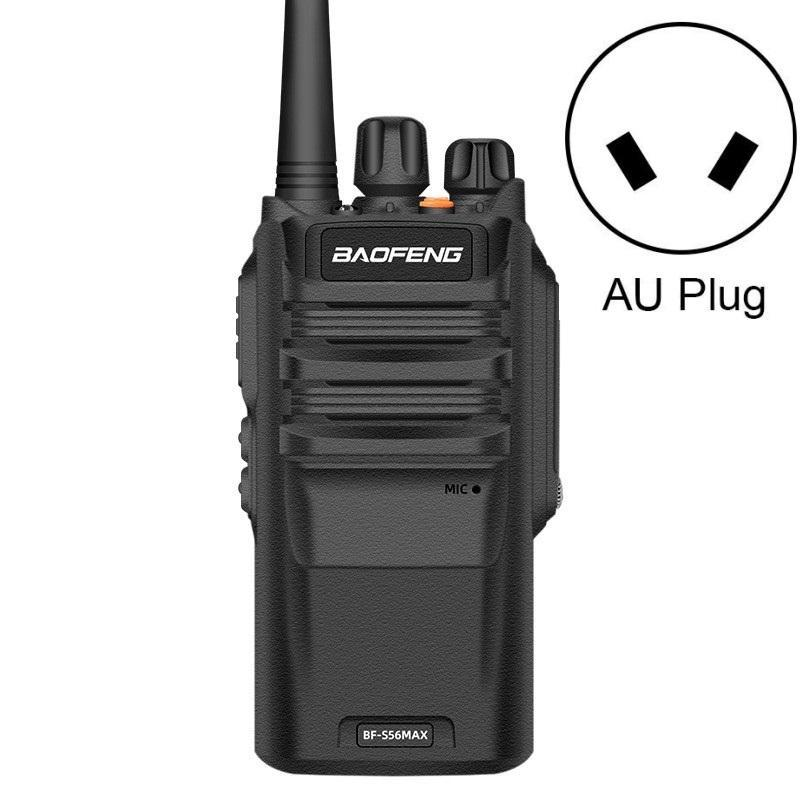 Baofeng BF-S56MAX High-Power wasserdichtes Handkommunikationsgerät Walkie-Talkie, Stecker Spezifikationen: AU Stecker