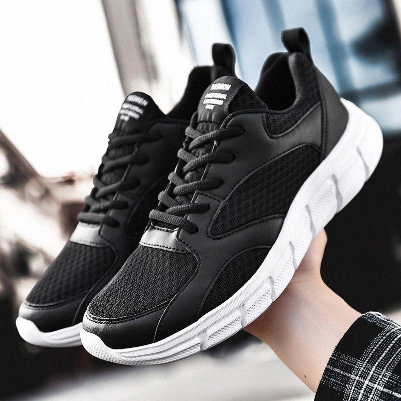 Erkek Moda Ayakkabılar Günlük Erkek Ayakkabı Mesh Erkekler Sneakers Nefes Zapatillas Hombre Tenis Masculino 39 48 Spor Ayakkabı Koşu Skechers ARu1 #