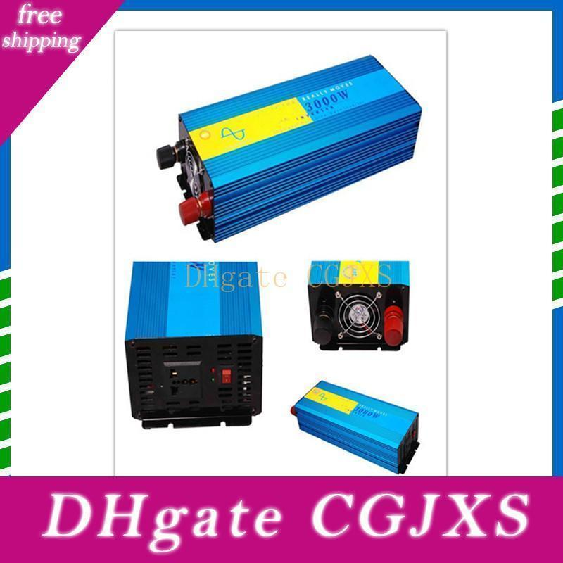 Car 3000w Pure Sine Wave Inverter Battery Charger 3000 Watts Inverter Power Star 24v 220v 3000w Pure Sine Inverter Charger 3000 Watts Ups