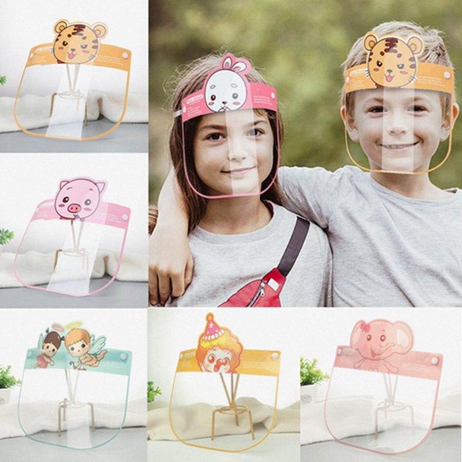 Дети Безопасность Защитная маска Защитная Защитная маска Clear маска для детей анфас Изоляция Предотвращение брызгать безопасности Прозрачный HHA142 jSgJ #