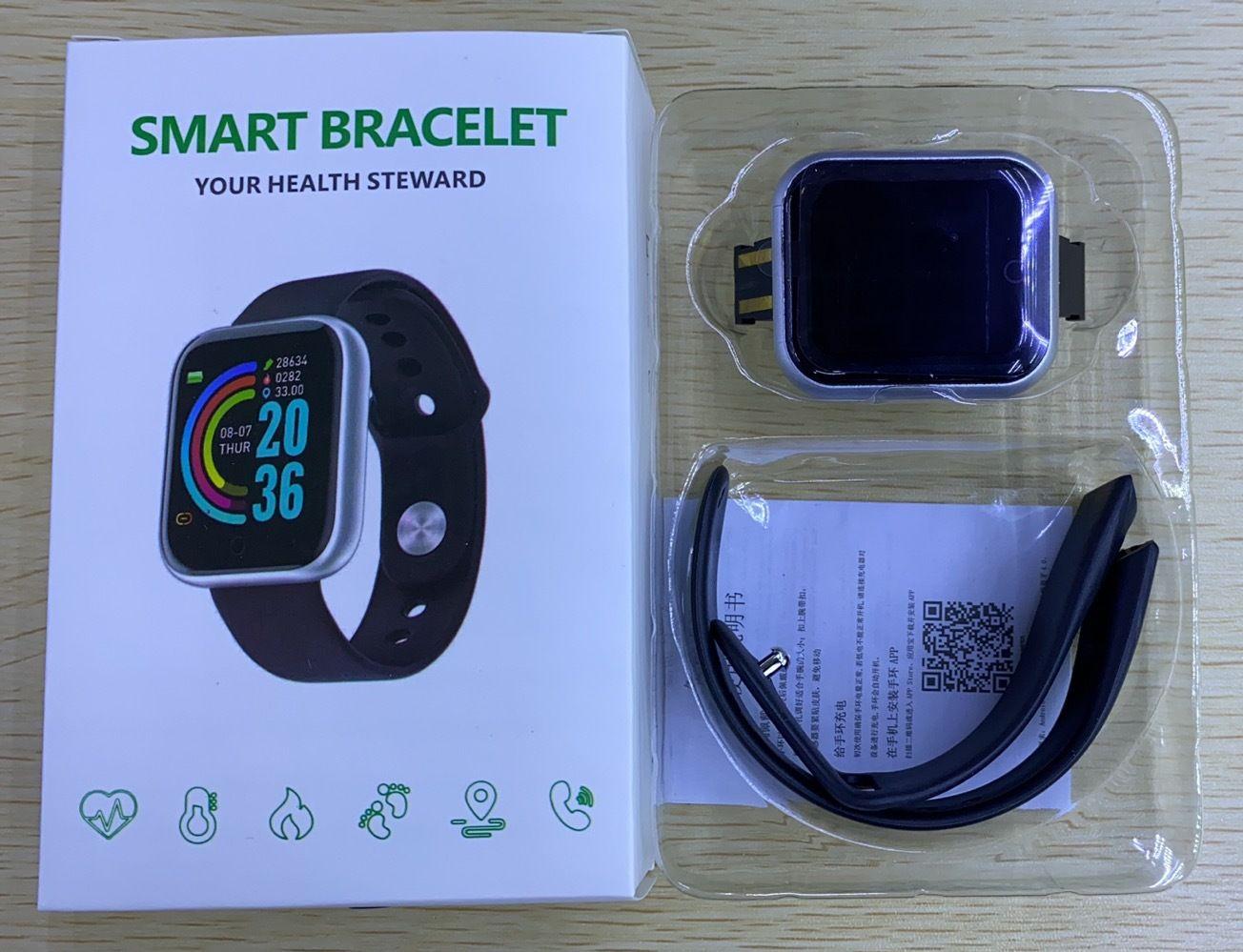 Y68 بلوتوث المرأة الرياضة smartwatch الرجال ماء الذكية ووتش القلب رصد معدل الذكية الروبوت relogio اللياقة تعقب